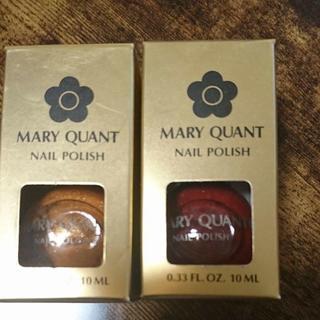 マリークワント(MARY QUANT)の新品マリークワントネイル4本セット(マニキュア)
