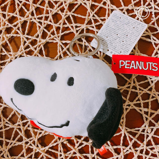 ピーナッツ(PEANUTS)のスヌーピー フェイスパスケース(パスケース/IDカードホルダー)