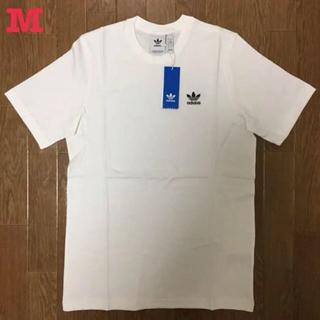 アディダス(adidas)のアディダス オリジナルス トレフォイル ワンポイントロゴ 半袖 Tシャツ 白 M(Tシャツ/カットソー(半袖/袖なし))