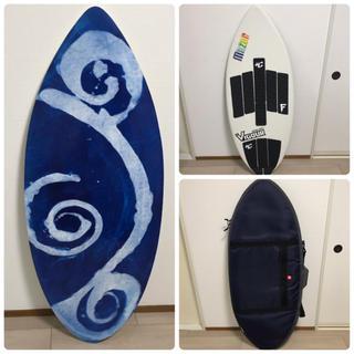 ビラボン(billabong)のスキムボード★MAZAR BASIC+★ケース&デッキパッド セット(サーフィン)