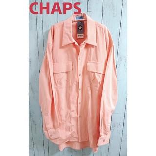 ラルフローレン(Ralph Lauren)のデッドストック!CHAPS チャップス ラルフローレン 長袖ビッグサイズシャツ(シャツ)