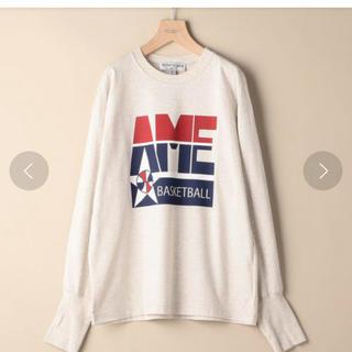 アメリカーナ(AMERICANA)のAmericanaタイムセール☆ビックシルエットロングスリーブTシャツ(Tシャツ(長袖/七分))