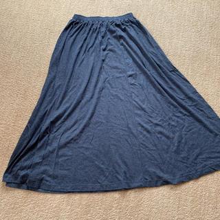 ムジルシリョウヒン(MUJI (無印良品))のスウェットロングスカート(ルームウェア)