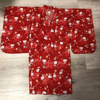 ユニクロ(UNIQLO)のUNIQLO 浴衣120(甚平/浴衣)