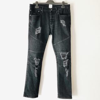 スタンプドエルエー(Stampd' LA)のGAP x STAMPD Black Moto Distressed Jeans(デニム/ジーンズ)