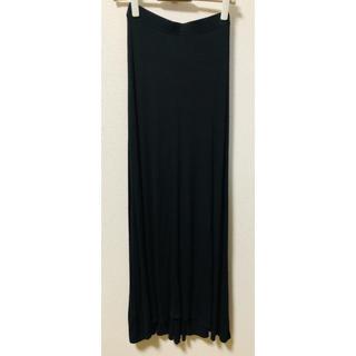 ビーシービージーマックスアズリア(BCBGMAXAZRIA)のBCBGMAXAZRIA ブラック ロングスカート XXSサイズ(ロングスカート)