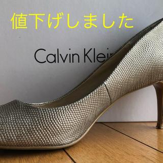 カルバンクライン(Calvin Klein)のCALVIN KLEIN パンプス(ハイヒール/パンプス)