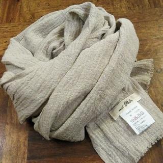 ネストローブ(nest Robe)のnest Robe✨ネストローブ リネン麻100% 日本製 ストール パシュミナ(ストール/パシュミナ)
