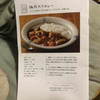④梅レシピ(漬物)