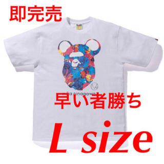 アベイシングエイプ(A BATHING APE)のbape ベイプ BAPE APE HEAD  mika Ninagawa (Tシャツ/カットソー(半袖/袖なし))