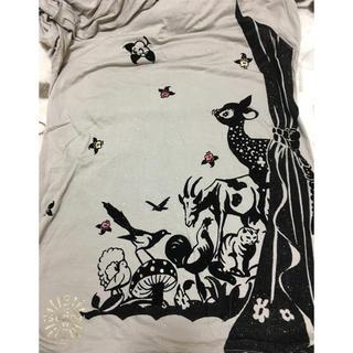 ツモリチサト(TSUMORI CHISATO)のツモリチサト Tシャツ チュニック サイズ2(チュニック)