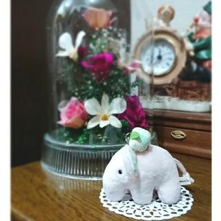 アフタヌーンティー(AfternoonTea)のAfternoon Tea☆ストラップ付!可愛い象のぬいぐるみ(ぬいぐるみ)