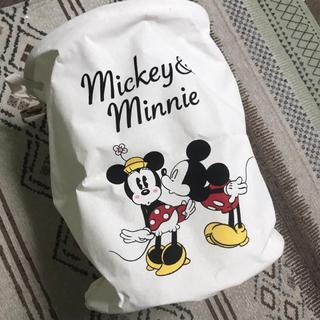 ディズニー(Disney)のヒロレオ様専用【値下げしました】ディズニー ミッキー&ミニー ランドリーボックス(バスケット/かご)