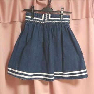 リズリサ(LIZ LISA)のLIZ LISA ♡ デニムスカート(ミニスカート)