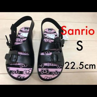 ハローキティ(ハローキティ)の◆ Sanrio サンリオ ビルケン風 ベルト サンダル 22.5cm ◆ (サンダル)
