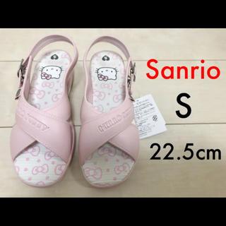ハローキティ(ハローキティ)の◆ Sanrio サンリオ ハローキティ サンダル ピンク 22.5cm ◆ (サンダル)