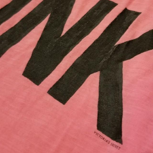 Victoria's Secret(ヴィクトリアズシークレット)の1度着用美品☆日本未上陸ブランドPINKトレーニングウェア レディースのトップス(タンクトップ)の商品写真
