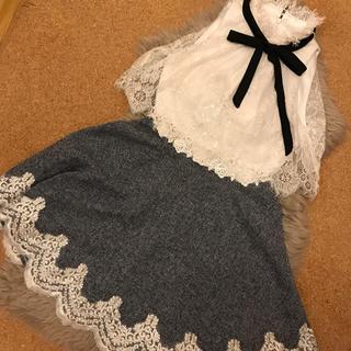 ローブ(ROBE)のROBE de FLEUR ドレス(ミニドレス)