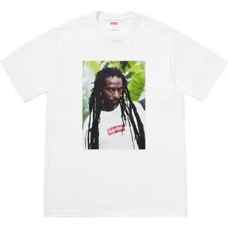 シュプリーム(Supreme)のSupreme 19ss Buju Banton Tee White Mサイズ(Tシャツ/カットソー(半袖/袖なし))