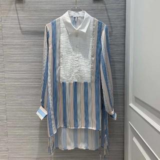 ロエベ(LOEWE)のLOEWEシャツストライプ柄美品19ss(シャツ)