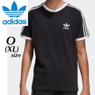 アディダス(adidas)の完売品!adidas originals 黒×白 3本ライン Tシャツ XL(Tシャツ/カットソー(半袖/袖なし))