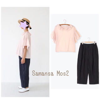 サマンサモスモス(SM2)の新品Samansa Mos2 セット(シャツ/ブラウス(半袖/袖なし))