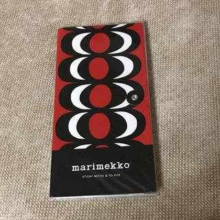 マリメッコ(marimekko)のマリメッコ メモパッド(ノート/メモ帳/ふせん)