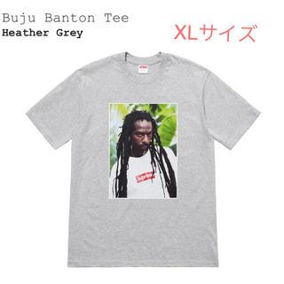 シュプリーム(Supreme)のsupreme x Buju Banton Tee Heather Grey(Tシャツ/カットソー(半袖/袖なし))