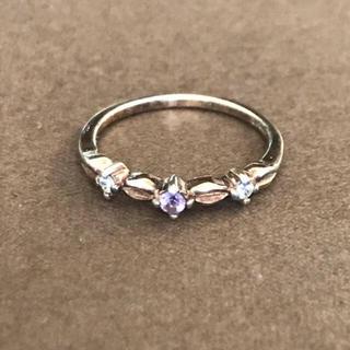 ☆天然石アメジストのリング(リング(指輪))