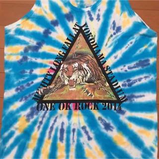 ワンオクロック(ONE OK ROCK)のONE OK ROCK タンクトップ 邦ロック 横浜(Tシャツ/カットソー(半袖/袖なし))