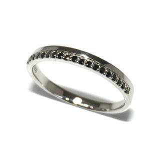 プラチナ PT ブラックダイヤ ブラックダイヤモンド リング 指輪(リング(指輪))