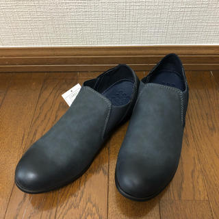 在庫処分 踵が踏める カジュアルシューズ スリッポン(スリッポン/モカシン)