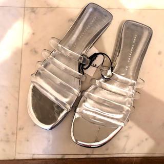 エディットフォールル(EDIT.FOR LULU)のクリアサンダル clear sandal [thevirgins・epine](サンダル)