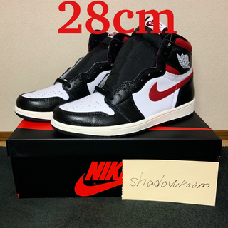 ナイキ(NIKE)のair jordan 1 gym red 28 US10(スニーカー)