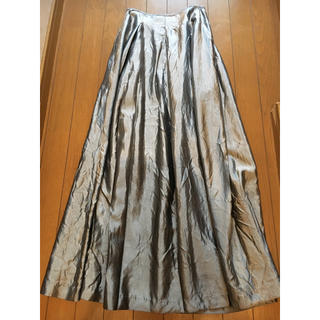 ジョンリンクス(jonnlynx)のeto様専用♡hooked vintage購入♡シルバーロングスカート (ロングスカート)