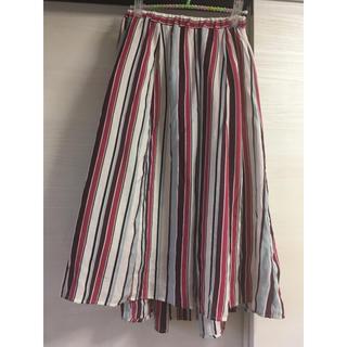 セポ(CEPO)のフィッシュテール ストライプスカート(ひざ丈スカート)