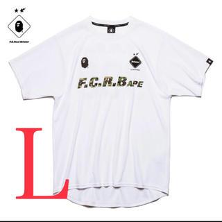 アベイシングエイプ(A BATHING APE)のbristol  FCRB xAPE チームTEE L(Tシャツ/カットソー(半袖/袖なし))