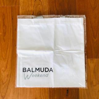 バルミューダ(BALMUDA)のバルミューダ  エコバッグ トートバッグ 白 ロゴ 付録(トートバッグ)