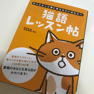 オーイズミ(OIZUMI)の猫語 レッスン帖  (猫の本)(趣味/スポーツ/実用)