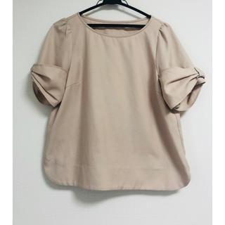 クチュールブローチ(Couture Brooch)のcouture brooch ベージュブラウス(シャツ/ブラウス(半袖/袖なし))
