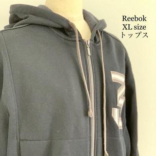 リーボック(Reebok)の90s Reebok リーボック デカロゴ オーバーサイズ パーカー XL LL(パーカー)