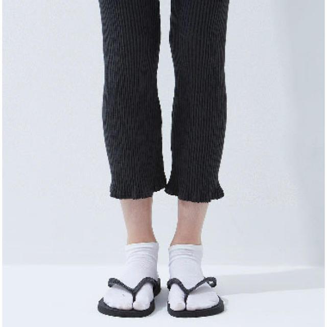 DEUXIEME CLASSE(ドゥーズィエムクラス)の新品 babaco 2 pairs words 足袋ソックス タビ 靴下 レディースのレッグウェア(ソックス)の商品写真