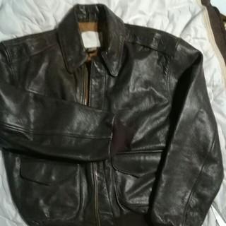 AVIREX - アビレックス、山羊革フライトジャケット