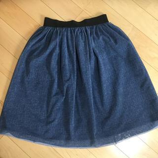 ドアーズ(DOORS / URBAN RESEARCH)のアーバンリサーチ チュールスカート(ひざ丈スカート)
