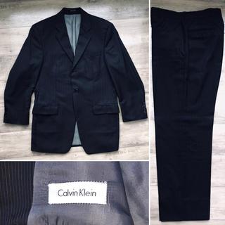 カルバンクライン(Calvin Klein)の【値下しました】Calvin Klein ビジネススーツ | BKストライプ(セットアップ)