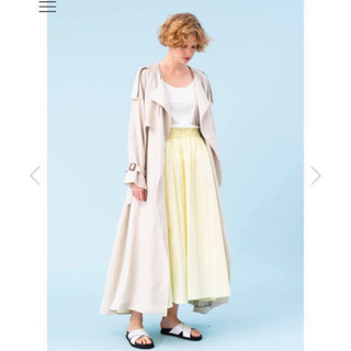 ドゥロワー(Drawer)のエブール  ebure 19ss完売グログランスカート(ロングスカート)