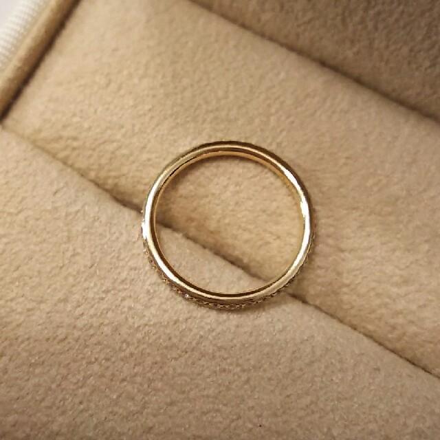 orefice オレフィーチェ フルエタニティ リング  k18 ピンキーリング レディースのアクセサリー(リング(指輪))の商品写真