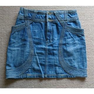 ツモリチサト(TSUMORI CHISATO)のツモリチサト スラブデニムスカート(ひざ丈スカート)