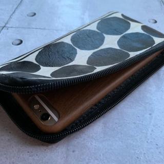 マリメッコ(marimekko)のiPhone スマートフォン モバイルポーチ ハンドメイド(iPhoneケース)