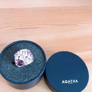 アガタ(AGATHA)の最終値下げハートAG ATH A   指輪(リング(指輪))